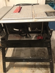 Table Saw With Base