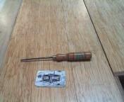 Wood gouge (paring gouge)