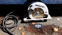 Black & Decker Saw Cat Circular Saw