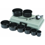 "Jobmate Hole Saw Set, 3/4"" - 2 1/2"""