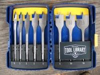Irwin Speedbor Spade Drill Bit Set
