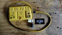 Power Bar - 4ft - 6 plugs - yellow