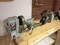 """37"""" wood turning lathe"""