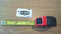 Brick Spacing Measuring Tape