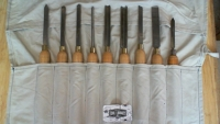 9-Piece Wood Chisel Set