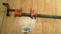 """45"""" Pipe clamp"""