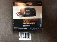 Battery charger for 6 & 12V