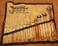 Metric Wrench Set 6mm - 22mm