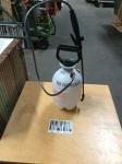 Hand pumper sprayer tank