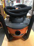 Rigid 6-gallon Shop Vacuum, Wet/Dry