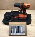 Black and Decker light duty cordless drill/driver