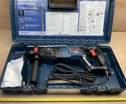 "Bosch Bulldog Xtreme 8 amp 1"" SDS-plus Rotary Hammer"