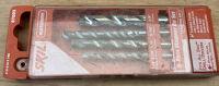 """4-piece masonry bit set (3/16, 1/4, 5/16, 3/8"""")"""