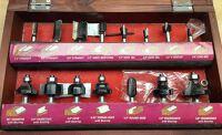 Warrior Router Bit Kit, 15 Piece