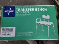 Transfer Bench with Back