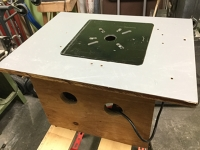 Table-mounted router
