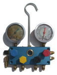 4-way Manifold Gauge Set