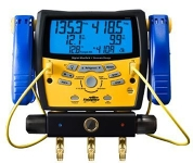 Digital Refrigeration Manifold and Vacuum Gauge