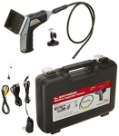 WHISTLER 9mm Wireless Inspection Camera with Recording Color LCD Monitor