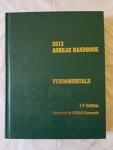 2013 ASHRAE Handbook: Fundamentals