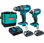 Makita Hammer Driver Drill and Impact Driver Kit (does not include bits)