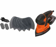 Electric Detail Sander Kit Including Accessories 120 Watt