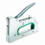 Heavy Duty Staple Gun Steel Silver and Green