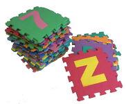 Foam Tiles - Letters & Numbers