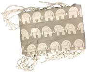 Bumper / Bed rand & Duvet - Elephants