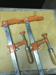 1' Bar Clamps (set of two)