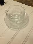 Glass Tea Cup Set (25 pieces)