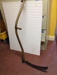curved handle scythe