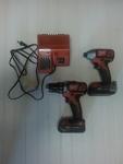 18-volt cordless drill & impact driver set