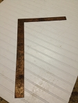 2' right angle measuring square