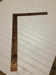 2' right angle measuring square