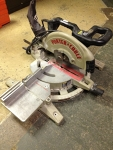 "10"" Compound Miter Shop Saw"