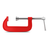 4 inch red C-Clamp