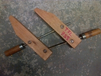 Wooden Handscrew Clamp 4""