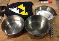 Portable Pots and Pan