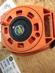 Extension cord with round-up case