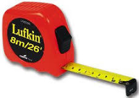 26'/8m Tape Measure