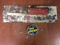 Finishing Drywall Trowel