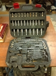 107-pc Mechanics Socket Set