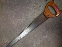 Double-Sided Rip/Crosscut Hand Saw