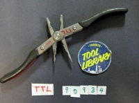 2-in-1 Needle and Flat Nose Pliers