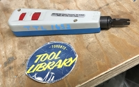 Punch Down Tool