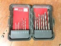 Drill Bit Set (1/16 - 3/8 bits)
