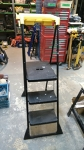 3' Step Ladder with Tool Rack Shelf