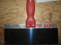 Blue Steel Drywall Taping Knife