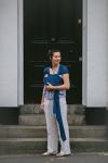 WaWiSH/Hana Navy Stretchy Wrap
